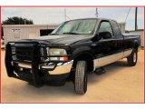2003 Black Ford F250 Super Duty FX4 SuperCab 4x4 #16997140