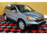 2009 Glacier Blue Metallic Honda CR-V EX-L 4WD #16999683