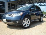 2007 Midnight Blue Pearl Nissan Murano SL AWD #16989691