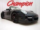 2008 Black Porsche 911 Turbo Cabriolet #16986647