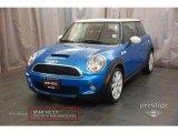 2007 Laser Blue Metallic Mini Cooper S Hardtop #16986133