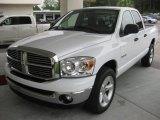 2008 Bright White Dodge Ram 1500 Big Horn Edition Quad Cab #16995914