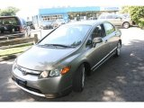 2006 Galaxy Gray Metallic Honda Civic LX Sedan #16989429