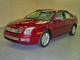 2008 Redfire Metallic Ford Fusion SEL V6 #17002547