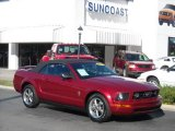 2006 Redfire Metallic Ford Mustang V6 Premium Convertible #1702700