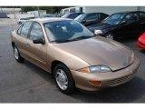 1999 Medium Sunset Gold Metallic Chevrolet Cavalier Sedan #17050416