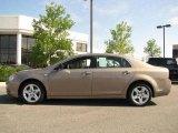 2008 Sandstone Metallic Chevrolet Malibu LS Sedan #17052921