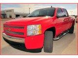 2008 Victory Red Chevrolet Silverado 1500 LT Crew Cab #17047438