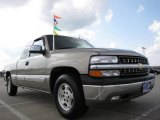2002 Light Pewter Metallic Chevrolet Silverado 1500 LT Extended Cab #17041088