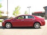 2008 Red Jewel Tint Coat Chevrolet Malibu LTZ Sedan #17052945