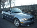 2005 Silver Grey Metallic BMW 3 Series 330i Convertible #1700987