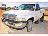 2001 Bright White Dodge Ram 1500 Regular Cab 4x4 #1703810