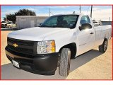 2008 Summit White Chevrolet Silverado 1500 Work Truck Regular Cab #1703803