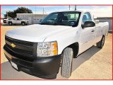 2008 Summit White Chevrolet Silverado 1500 Work Truck Regular Cab #1703802