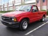1996 Apple Red Chevrolet S10 Regular Cab #17113986