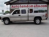 2002 Light Pewter Metallic Chevrolet Silverado 1500 LS Extended Cab 4x4 #17110263