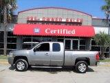 2008 Graystone Metallic Chevrolet Silverado 1500 LT Extended Cab #17103139