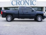 2008 Dark Blue Metallic Chevrolet Silverado 1500 LT Extended Cab #17108720