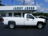 2008 Summit White Chevrolet Silverado 1500 Work Truck Regular Cab 4x4 #17114486