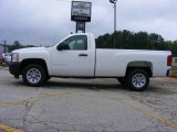 2009 Summit White Chevrolet Silverado 1500 Regular Cab #17110499