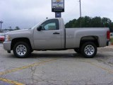 2009 Silver Birch Metallic Chevrolet Silverado 1500 LS Regular Cab #17110500
