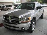 2006 Bright Silver Metallic Dodge Ram 1500 SLT Quad Cab #17109651