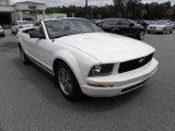 2005 Performance White Ford Mustang V6 Premium Convertible #17110555