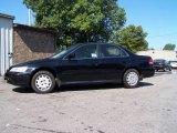 2002 Nighthawk Black Pearl Honda Accord LX Sedan #17108201
