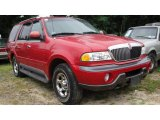 1999 Laser Red Lincoln Navigator 4x4 #17113988