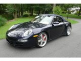 2007 Midnight Blue Metallic Porsche 911 Carrera 4S Cabriolet #17101688