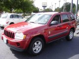 2006 Inferno Red Crystal Pearl Jeep Grand Cherokee Laredo 4x4 #17097767