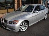 2006 Titanium Silver Metallic BMW 3 Series 330xi Sedan #17104966