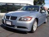 2007 Arctic Metallic BMW 3 Series 328xi Sedan #17101098