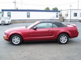 2006 Redfire Metallic Ford Mustang V6 Premium Convertible #17112443