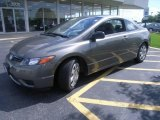 2006 Galaxy Gray Metallic Honda Civic LX Coupe #17110683