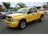 2005 Solar Yellow Dodge Ram 1500 SLT Rumble Bee Quad Cab 4x4 #17110456