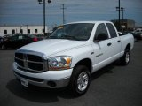 2006 Bright White Dodge Ram 1500 SLT Quad Cab 4x4 #17171849