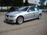 2009 Titanium Silver Metallic BMW 3 Series 328xi Sedan #17107720