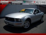 2007 Satin Silver Metallic Ford Mustang V6 Deluxe Coupe #17171914