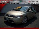2007 Borrego Beige Metallic Honda Civic EX Sedan #17171923