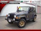 2006 Midnight Blue Pearl Jeep Wrangler Sport 4x4 Golden Eagle #17171905