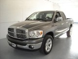 2008 Mineral Gray Metallic Dodge Ram 1500 Big Horn Edition Quad Cab #17171841