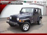 2006 Midnight Blue Pearl Jeep Wrangler X 4x4 #17171906