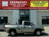 2000 Light Pewter Metallic Chevrolet Silverado 1500 LS Regular Cab 4x4 #17189370