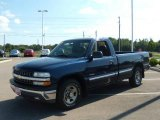 2000 Indigo Blue Metallic Chevrolet Silverado 1500 Regular Cab #17191717