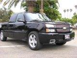 2003 Black Chevrolet Silverado 1500 SS Extended Cab AWD #17198459