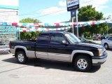 2004 Black Chevrolet Silverado 1500 Z71 Extended Cab 4x4 #17185390