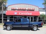 2006 Dark Blue Metallic Chevrolet Silverado 1500 LT Crew Cab #17187174