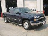 2006 Dark Blue Metallic Chevrolet Silverado 1500 LT Crew Cab 4x4 #17184268
