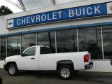 2008 Summit White Chevrolet Silverado 1500 Work Truck Regular Cab #17189106
